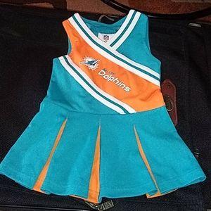 Miami Dolphins girls dress
